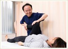 産後専用プログラムでの施術